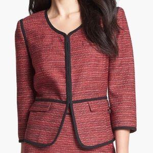 Classiques Entier Red Tweed Blazer